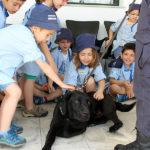 Crianças do Conde de Sobral visitam GNR de Almeirim