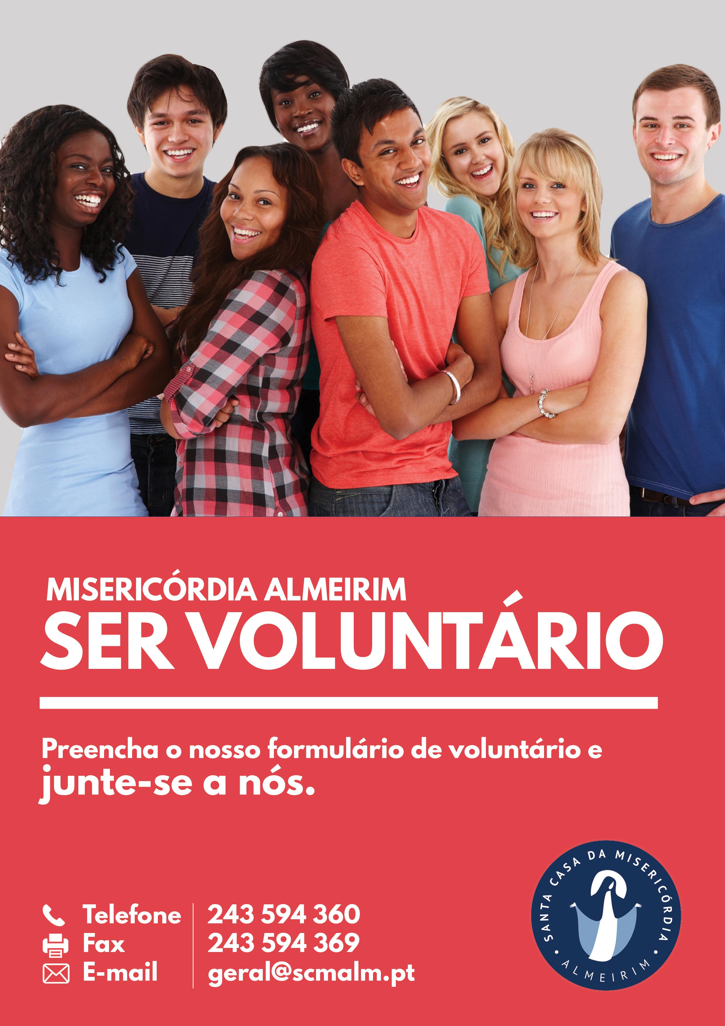 Ser Voluntário na Misericórdia de Almeirim