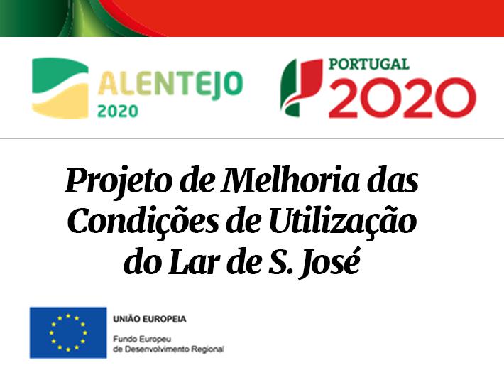 Projeto de Melhoria Lar de S. José | Alentejo 2020