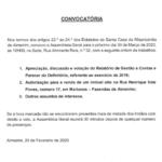 Assembleia Geral SCMA – CONVOCATÓRIA