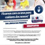 Babysitting Gratuito para Filhos de profissionais da Linha da Frente