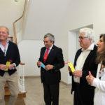 Visita Dr. Manuel Lemos à Santa Casa da Misericórdia de Almeirim