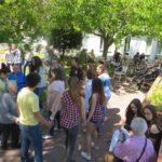 Clubes da Febo Moniz de visita ao Lar São José