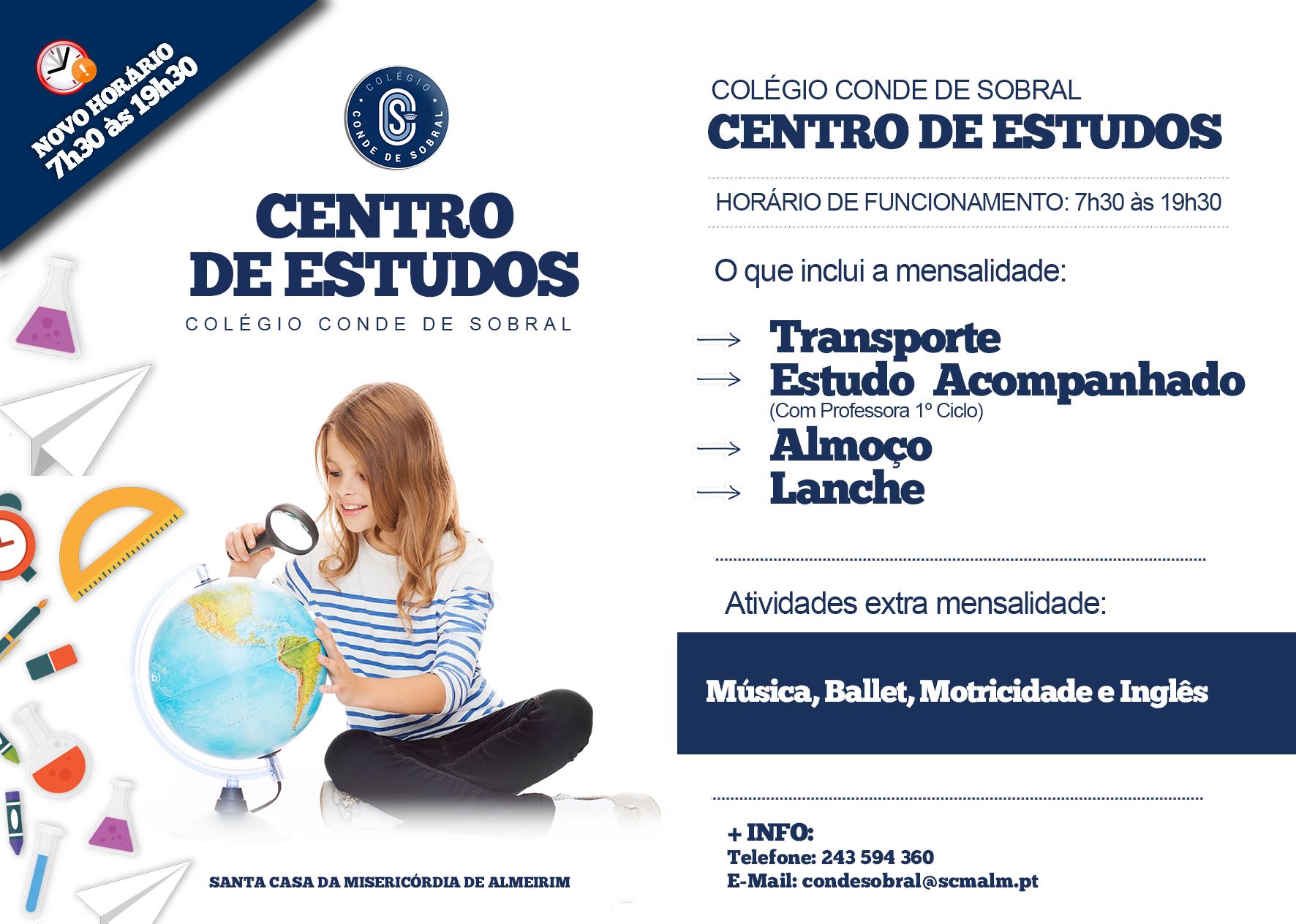 Centro de Estudos – C. Conde de Sobral