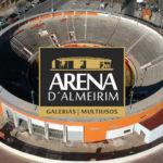 A requalificação da Arena d´Almeirim está na sua última fase.